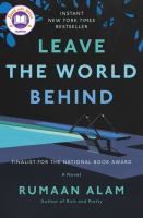 Leave the world behind : a novel Book cover