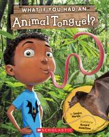 What if you had an animal tongue!? Book cover