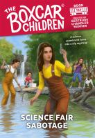 Science fair sabotage Book cover