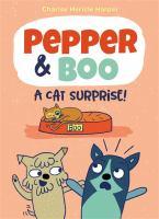 Pepper & Boo : a cat surprise! Book cover