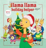 Llama Llama holiday helper Book cover
