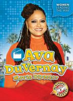 Ava Duvernay : movie director  Cover Image