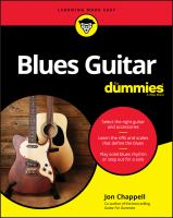 Blues guitar Book cover