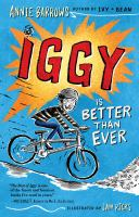 Iggy is better than ever Book cover