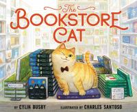 The bookstore cat Book cover