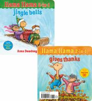 Llama llama 2-in-1 Jingle bells ; Gives thanks Book cover