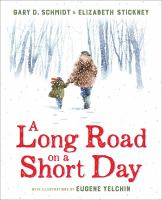 A long road on a short day  Cover Image