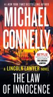The law of innocence by Michael Connelly.