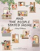 And the people stayed home Book cover
