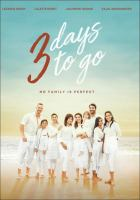 3 days to go Book cover