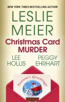 Christmas card murder Book cover