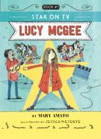 A star on TV, Lucy McGee Book cover