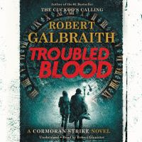 Troubled blood Book cover