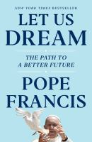 Let us dream : the path to a better future Book cover