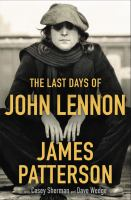 The last days of John Lennon Book cover