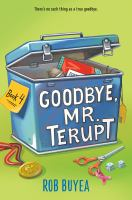 Goodbye, Mr. Terupt Book cover