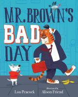 Mr. Brown's bad day Book cover