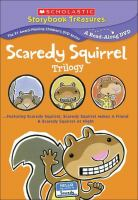 Scaredy Squirrel Trilogy Book cover