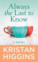 Always the last to know  Cover Image