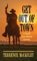 Get out of town Book cover