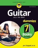 Guitar all-in-one for dummies Book cover