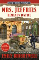 Mrs. Jeffries demands justice Book cover