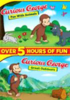 Curious George. Fun with animals and Great outdoors Book cover