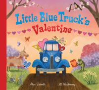 Little Blue Truck's valentine Book cover