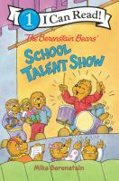 The Berenstain Bears' school talent show by Mike Berenstain.