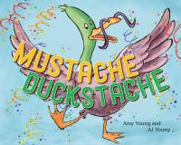 Mustache duckstache Book cover