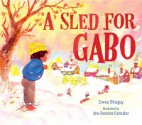 A sled for Gabo Book cover