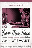 Dear Miss Kopp  Cover Image
