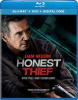 Honest thief Book cover