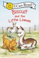 Biscuit and the little llamas Book cover