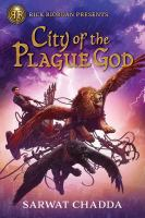 City of the plague god Book cover