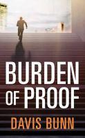 Burden of proof Book cover
