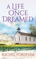 A life once dreamed Book cover