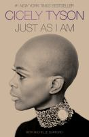 Just as I am : a memoir Book cover