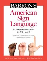 Barron's American Sign Language : a comprehensive guide to ASL 1 and 2 Book cover