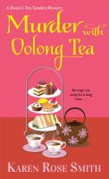 Murder with oolong tea Book cover