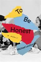 To be honest Book cover