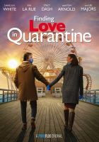 Finding love in quarantine. Book cover