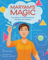 Maryam's magic : the story of mathematician Maryam Mirzakhani Book cover