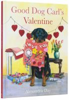 Good dog Carl's valentine Book cover