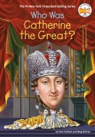 Who was Catherine the Great? Book cover