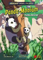 Panda-monium : panda rescue! Book cover