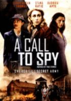 A call to spy Book cover