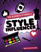 The business of being a style influencer Book cover