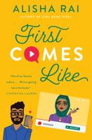First comes like : a novel  Cover Image