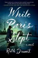 While Paris slept Book cover